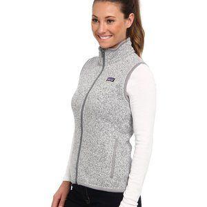 Women's Patagonia Better Sweater Birch White Vest